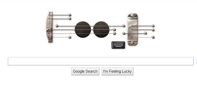 The new Google Doodle celebrates electric guitar pioneer Les Paul