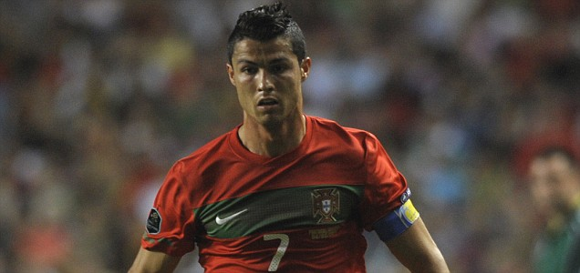 Portugal¥s forward Cristiano Ronaldo