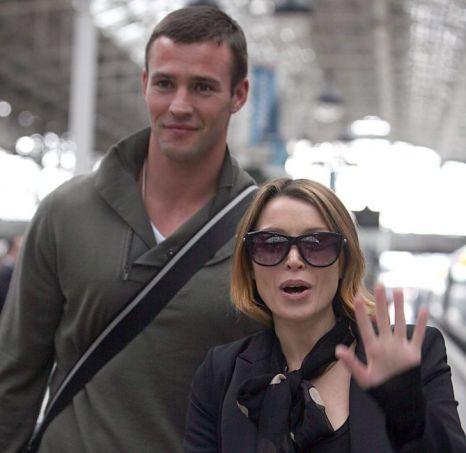Dannii Minogue and Kris Smith break up