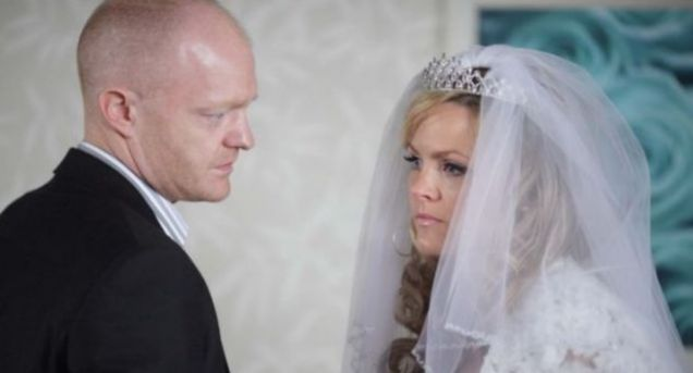 EastEnders Tanya cheated with Max on husband Greg on her wedding day