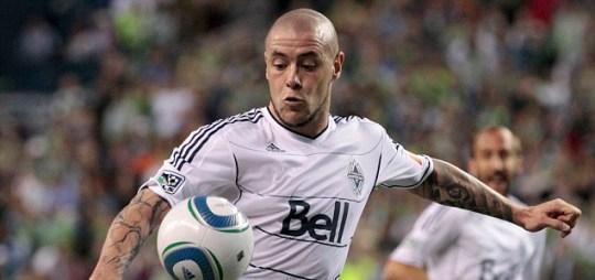 Vancouver Whitecaps FC's Eric Hassli