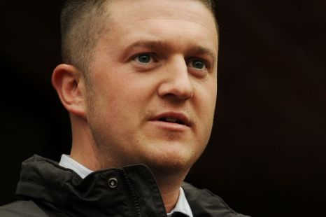Stephen Lennon, founderr of the English Defence League, (EDL)