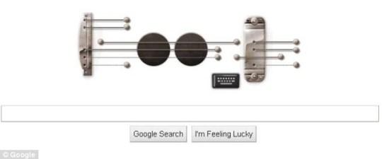 Google Doodle guitar for Les Paul