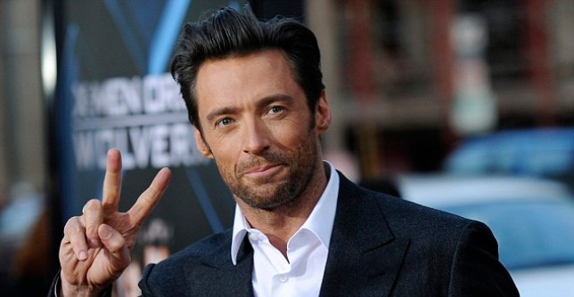 """Hugh Jackman, star of """"X-Men Origins: Wolverine,"""" poses before an industry screening of the film in Los Angeles, Tuesday, April 28, 2009. (AP Photo/Chris Pizzello)"""