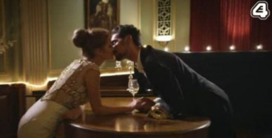 Hugo Millie kiss Made In Chelsea