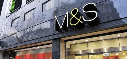 Marks and Spencer store Oxford Street