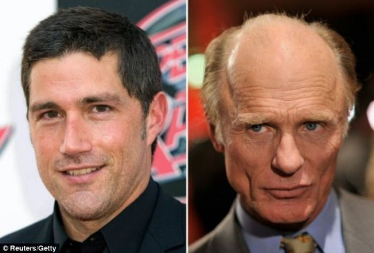 Matthew Fox and Ed Harris