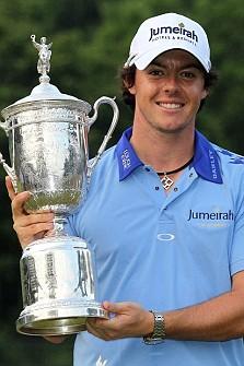Rory McIlroy winning the 2011 US Open