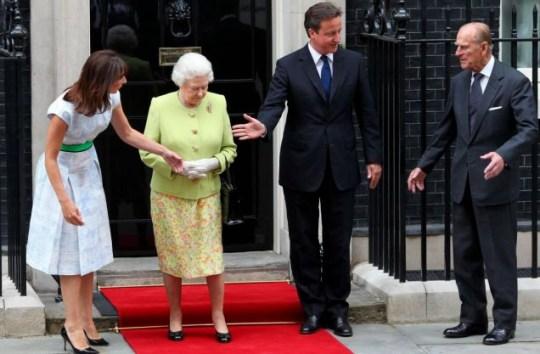 David Cameron Prince Philip