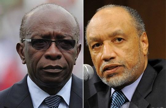 Jack Warner and Mohamed Bin Hammam
