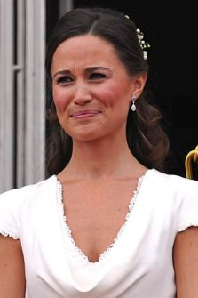 Pippa Middleton and Prince Harry Buckingham Palace balcony Royal Wedding