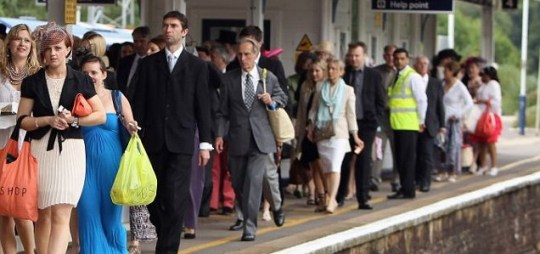 Train commuters Great Eastern Railways face delays and cancellations and delays because of hot weather
