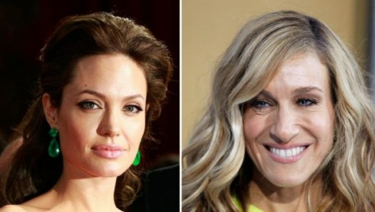 Angelina Jolie, Sarah Jessica Parker