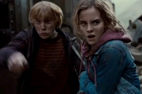 Emma Watson, Rupert Grint, Harry Potter and the Deathly Hallows: Part Two