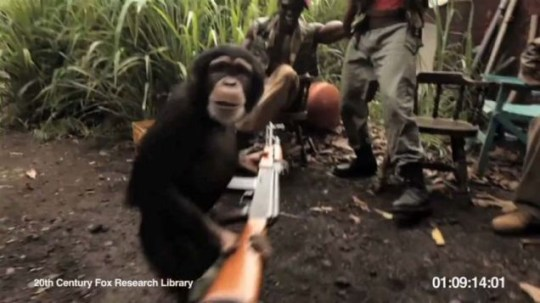 Rise of the Planet of the Apes viral