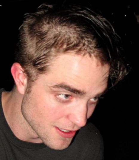 Robert Pattinson showed off his new haircut in Toronto