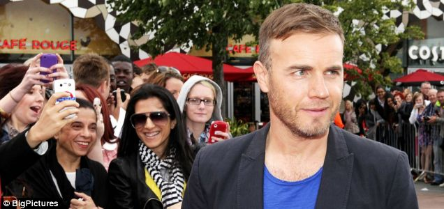Gary Barlow arrives at the O2 Arena for X Factor auditions.