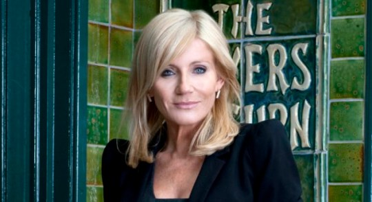 Michelle Collins' Coronation Street character to be run over