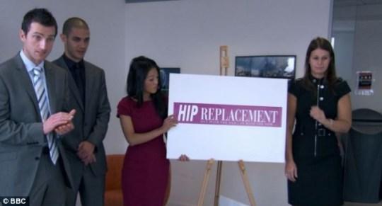 Apprentice, hip replacement