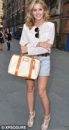 Caggie Dunlop Made In Chelsea without Spencer