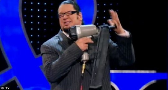 Penn & Teller saw some white-knuckle tricks being pulled off
