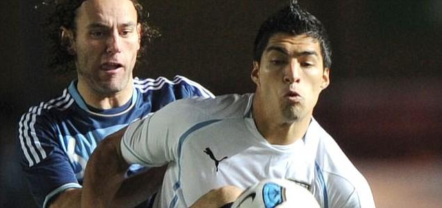 Uruguayan forward Luis Suarez