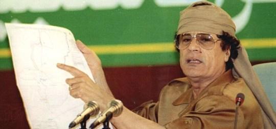 Colonel Moammar Gaddafi
