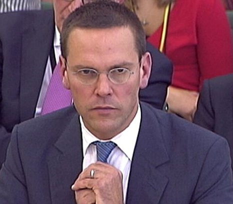 James Murdoch Commons parliamentary committee phone hacking scandal