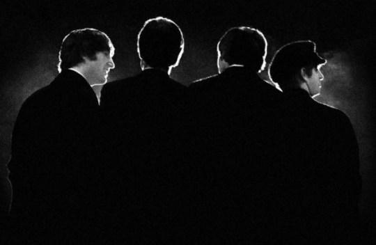 Get back: The Beatles at the Washington Coliseum in 1964 – their first US concert (Picture: AP/Mike Mitchell)