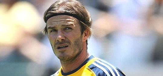 David Beckham of LA Galaxy
