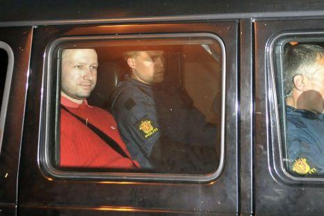 Bomb and terror suspect Anders Behring Breivik