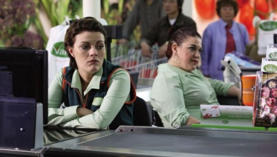 Chanel Cresswell & Beverly Rudd in Trollied (Sky1)