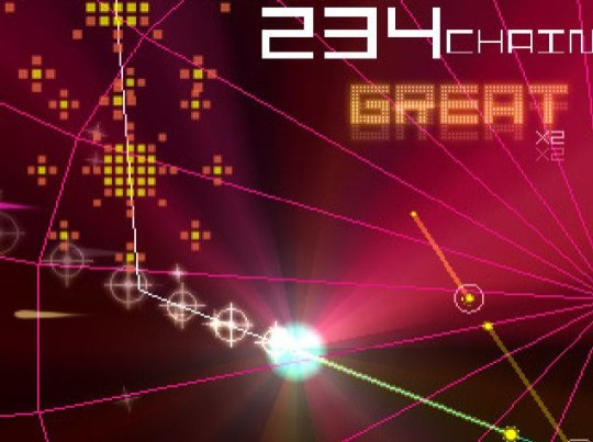 Groove Coaster (iPhone) – it is pretty good, yes