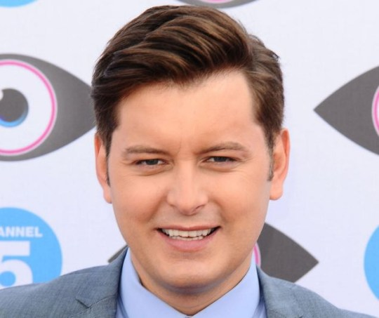 Big Brother presenter Brian Dowling