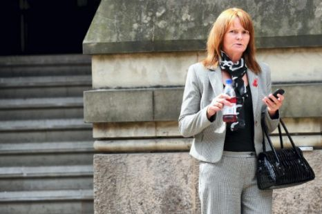 Carol Close outside court