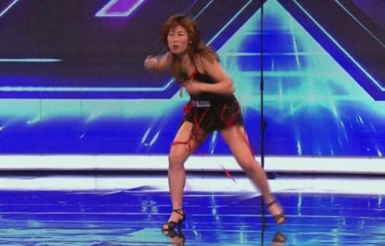Goldie Cheung, X Factor 2011