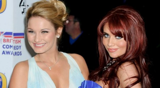 Amy Childs and Sam Faiers TOWIE
