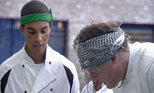 Lucien Laviscount Marco Pierre White Big brother