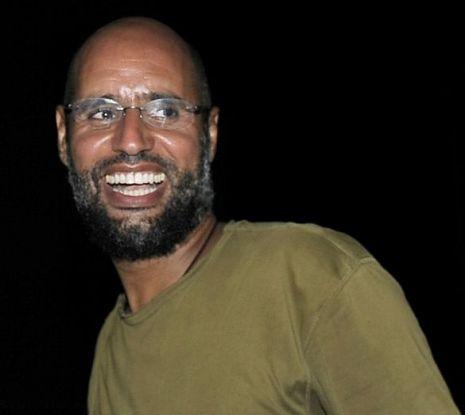 Saif al-Islam Gaddafi libya