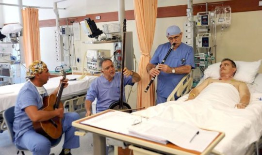 Dr Bingur Sonmez, Dr Erol Can and Mehmet Susam