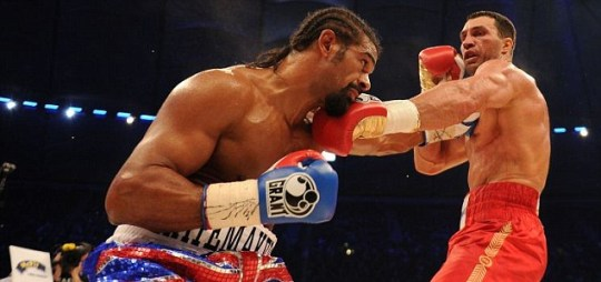 David Haye tries to bait Vitali Klitschko into giving him