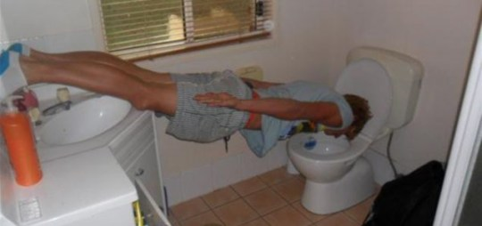 'Plumbking' is the new planking