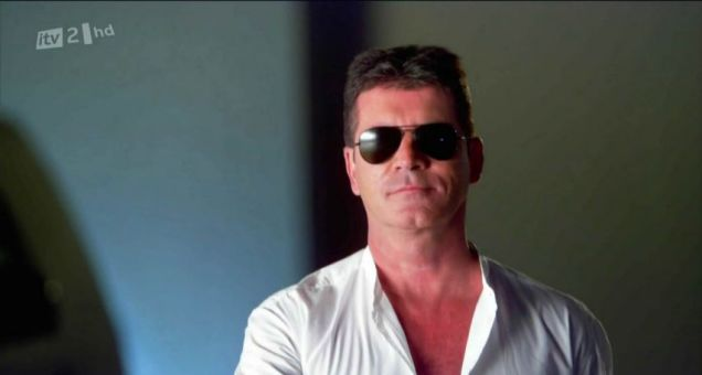 simon cowell, tan