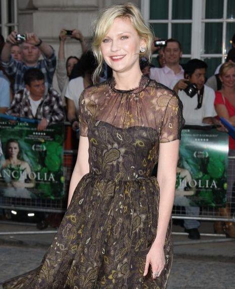 Kirsten Dunst, Melancholia premiere