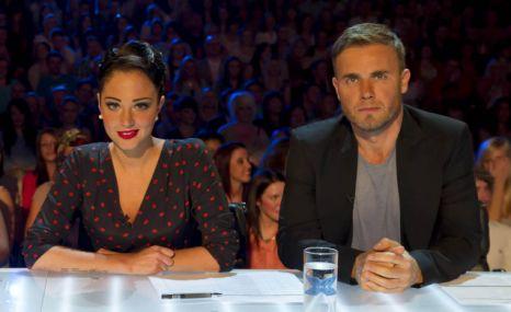 Tulisa Contostavlos Gary Barlow X Factor