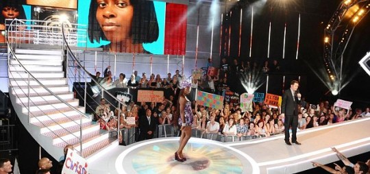 Heaven Africa is evicted from the Big Brother house