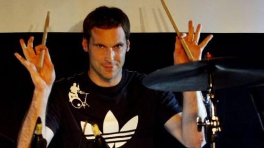 Petr Cech, drummer.