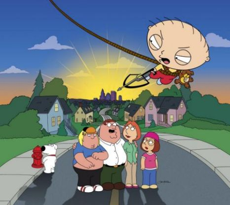 Family Guy is now in its tenth season