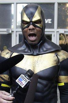 Superhero of Seattle Phoenix Jones Ben Fodor
