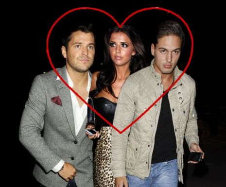 TOWIE stars Mark Wright, Lucy Mecklenburgh and Mario Falcone
